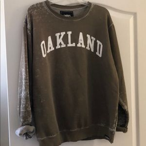 Urban outfitters Deter clothing Oakland crew neck